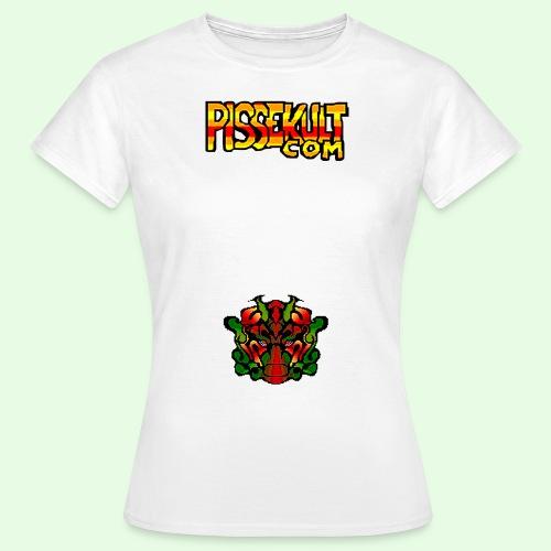 pisselogo - T-skjorte for kvinner