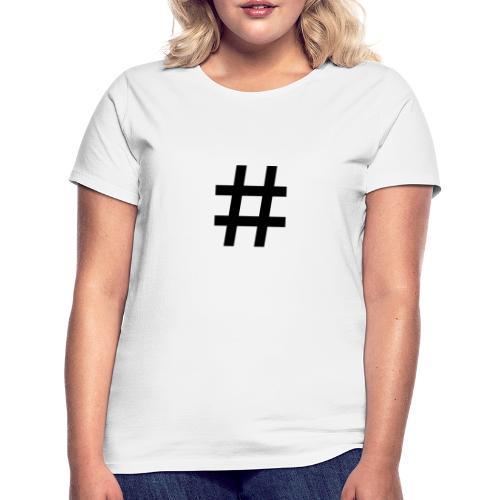 gym - T-skjorte for kvinner