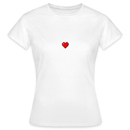 8BIT HEART - Camiseta mujer