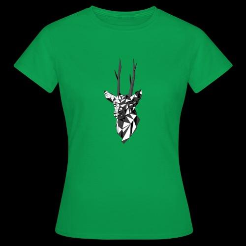 Polygoon Hert - Vrouwen T-shirt