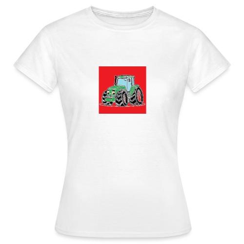 tracteur 1 rouge - T-shirt Femme