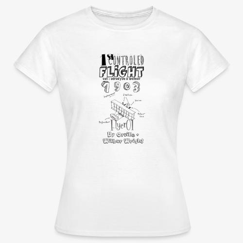 1stcontroled flight - T-shirt Femme