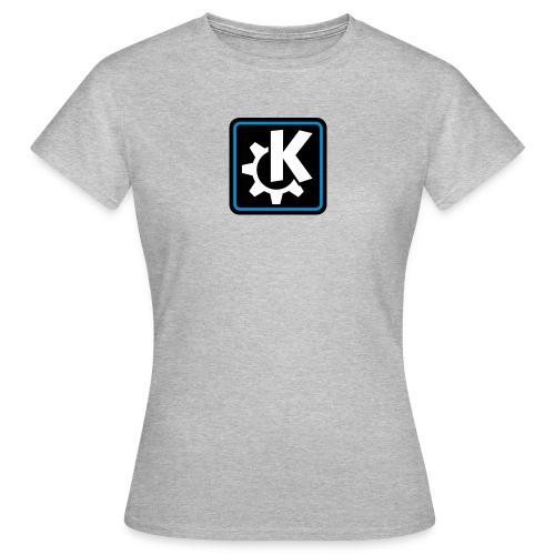 k logo bluish - Women's T-Shirt