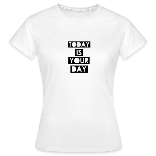 Official Design Kompas Today is your day - Vrouwen T-shirt