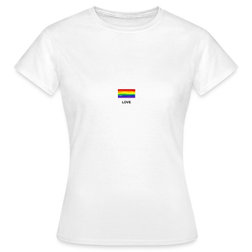 love is love Shirt - Frauen T-Shirt