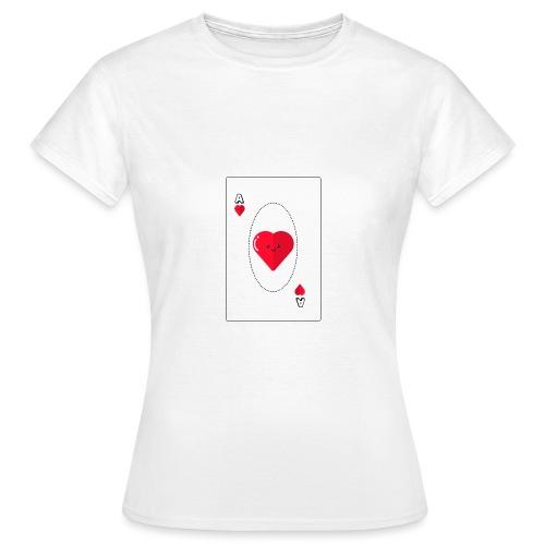 poker heart - Camiseta mujer