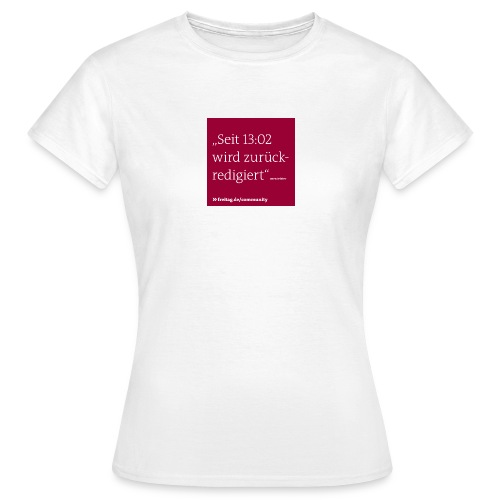 community kasten 5 - Frauen T-Shirt