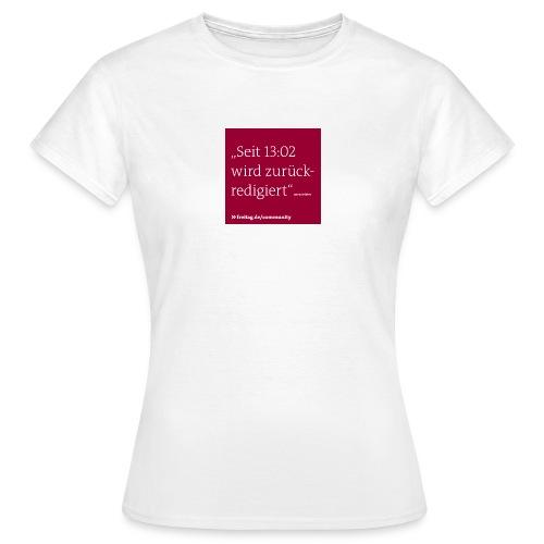 community kasten 5 - Frauen T-Shirt