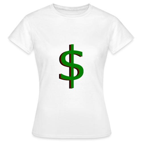 dollar - Vrouwen T-shirt