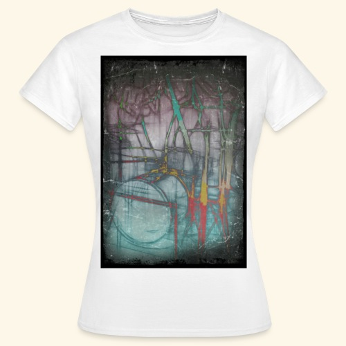 Drums Popart - Frauen T-Shirt