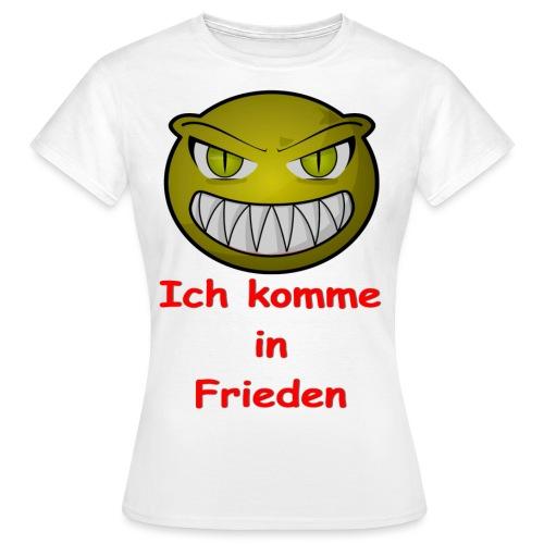Alien frieden - Frauen T-Shirt