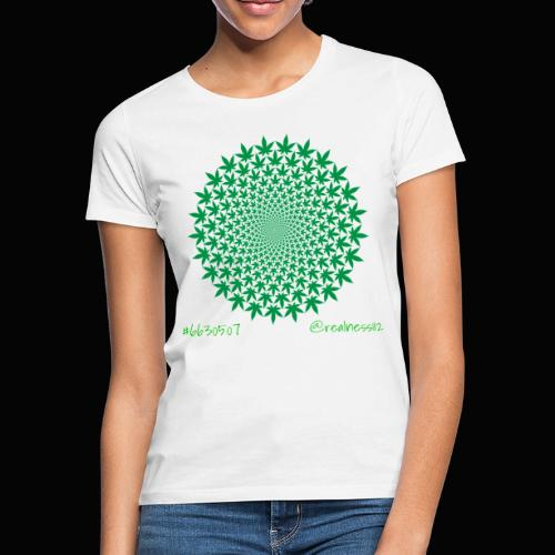 Geometric Cannabis!! Truth T-Shirts!! #Geometry - Women's T-Shirt