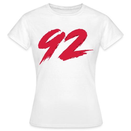 92 Logo 1 - Frauen T-Shirt