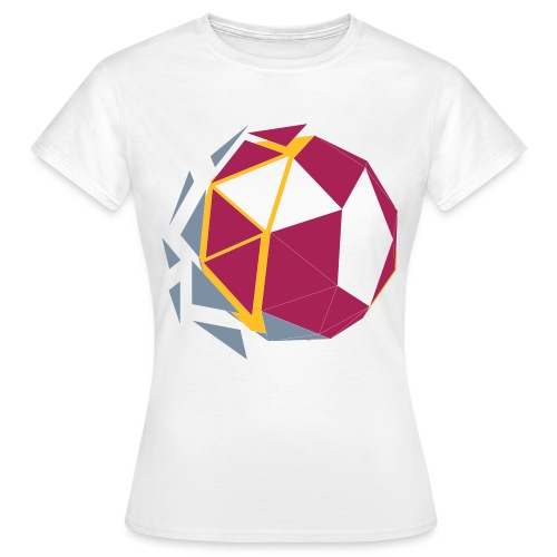 Polygone Ball - Frauen T-Shirt