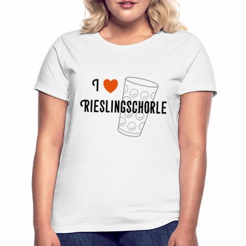 I ♥ Rieslingschorle - Frauen T-Shirt