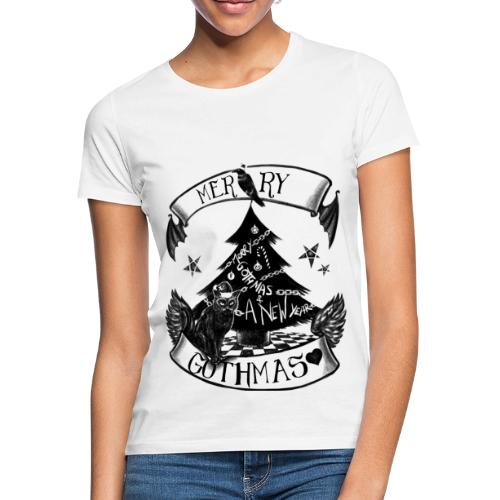 Merry Gothmas - Gothic Weihnachten - Frauen T-Shirt