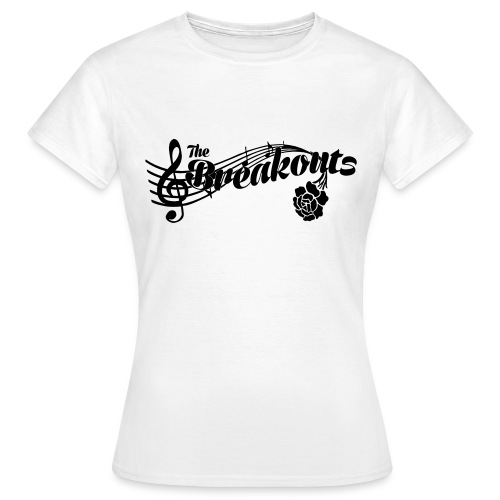 the breakouts logo - T-shirt dam