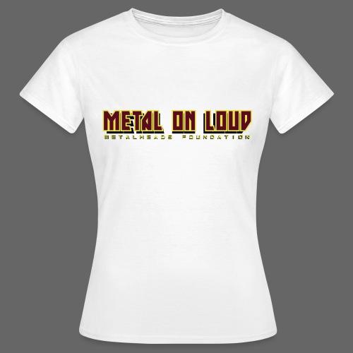 MOL Letter Logo Randy - Women's T-Shirt