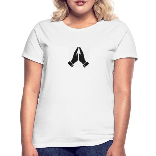 pray 2 - T-skjorte for kvinner