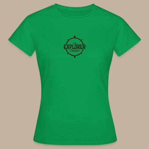 Black TEO Logo - Women's T-Shirt
