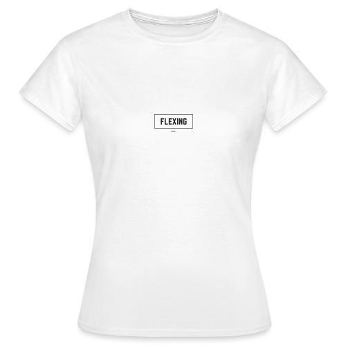 Flexing Box (BLACK) - Maglietta da donna