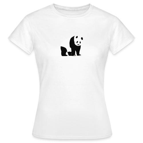 Panda - Naisten t-paita