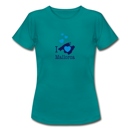 love Mallorca Balearen Spanien Ferieninsel Urlaub - Women's T-Shirt