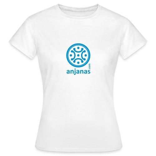 anjanas azul - Camiseta mujer