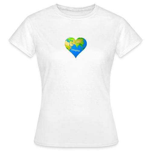 imagine - Frauen T-Shirt