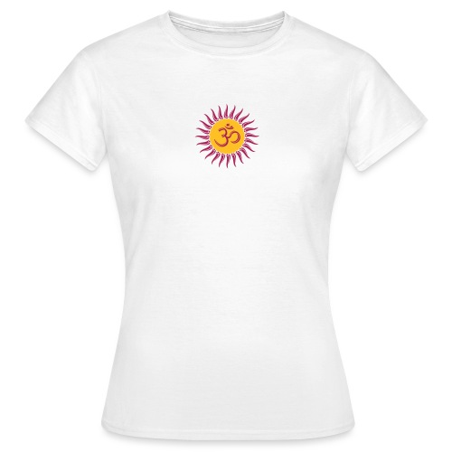 Om Sonne, Buddhismus, Yoga, spirituell, Meditation - Frauen T-Shirt