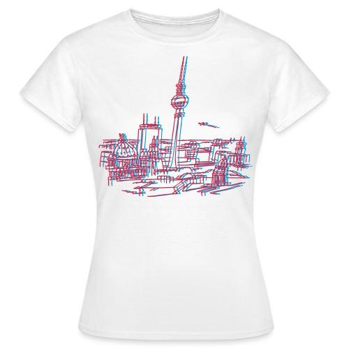 Berlin Panorama - Frauen T-Shirt