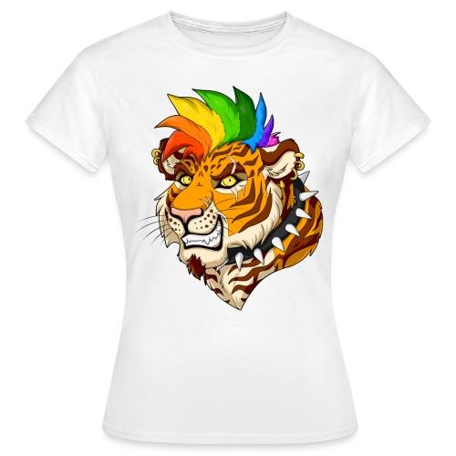 Punk Tiger - Koszulka damska