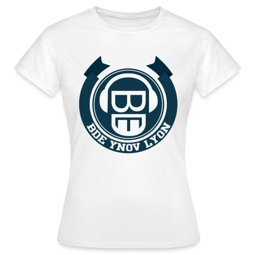 Logo BDE Ynov Lyon - T-shirt Femme