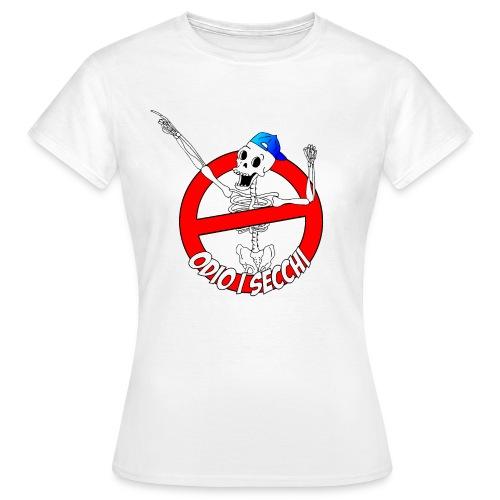 ODIOISECCHILOGO - Maglietta da donna