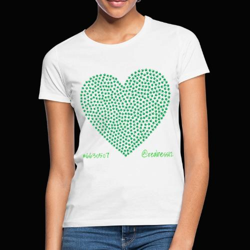 Love Cannabis!! Truth T-Shirts!! #WokeAF #Love - Women's T-Shirt