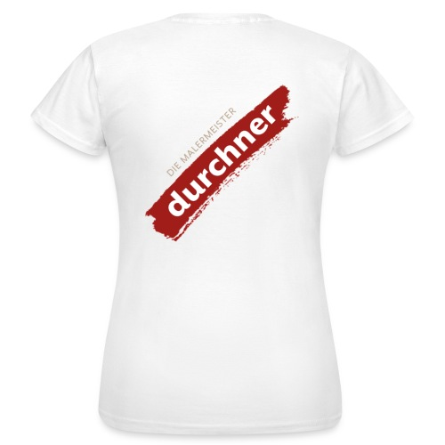 vorne oder hinten schräg - Frauen T-Shirt