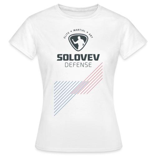 SD EMA back grey - Frauen T-Shirt