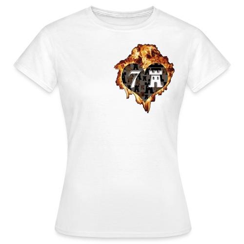logoichliebe7b - Frauen T-Shirt