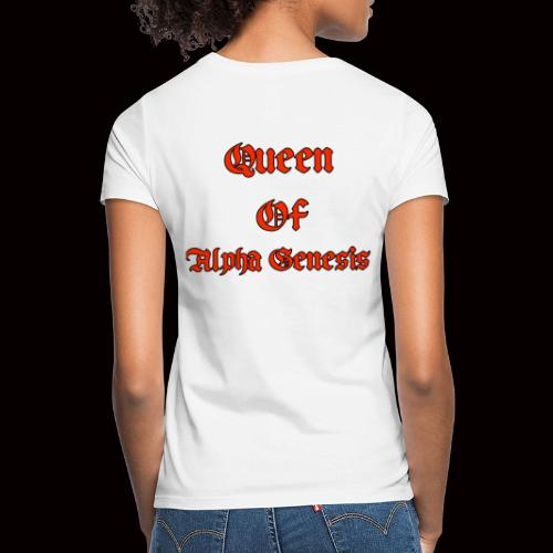 Queen of Alpha - Frauen T-Shirt