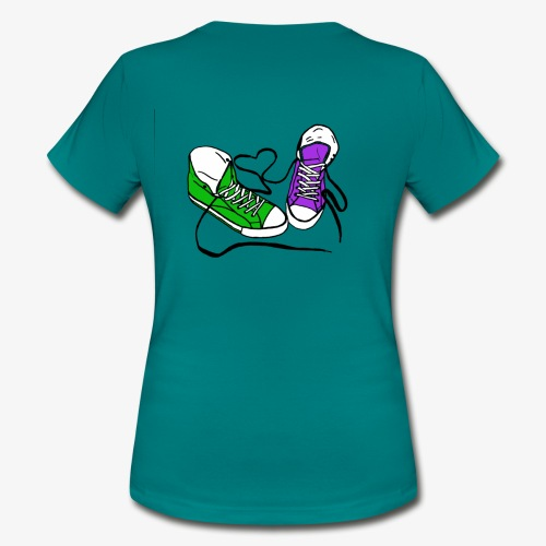 Sneakers - Frauen T-Shirt