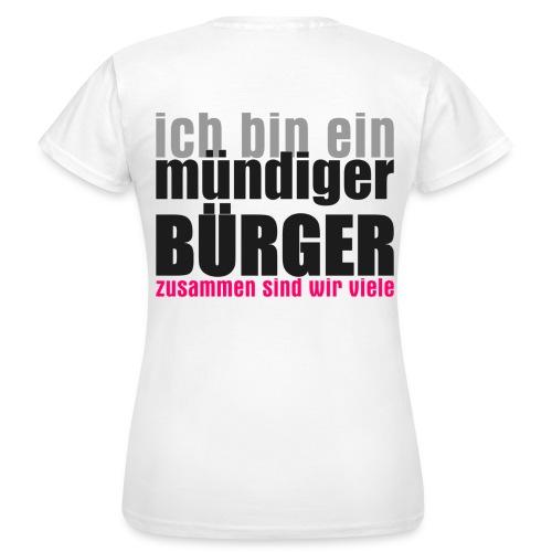 muendiger_buerger - Frauen T-Shirt