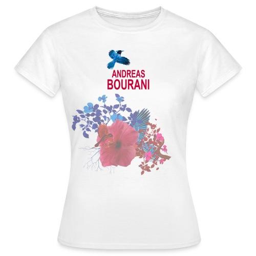 fc blumen vorne png - Frauen T-Shirt