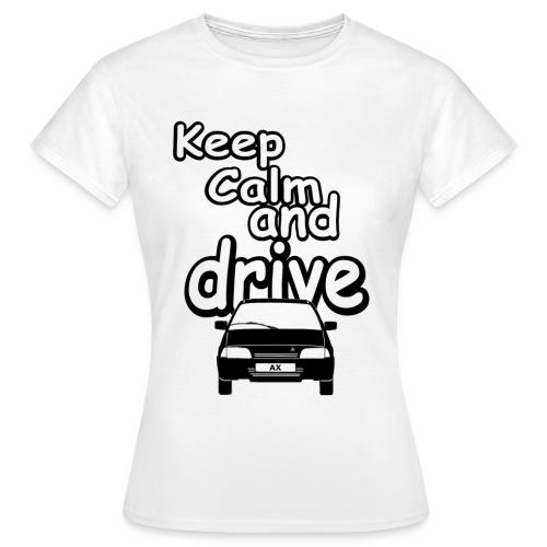 Keep calm gif - T-shirt Femme