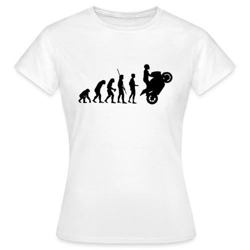 evolution noir png - T-shirt Femme