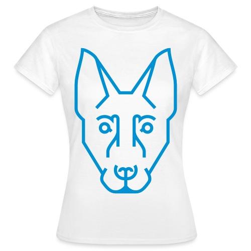 Kynogogik Ganzer Kopf - Frauen T-Shirt