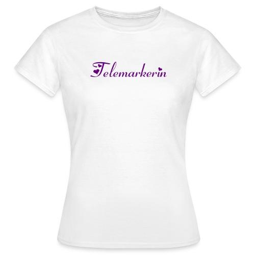telemarkerinschrift - Frauen T-Shirt