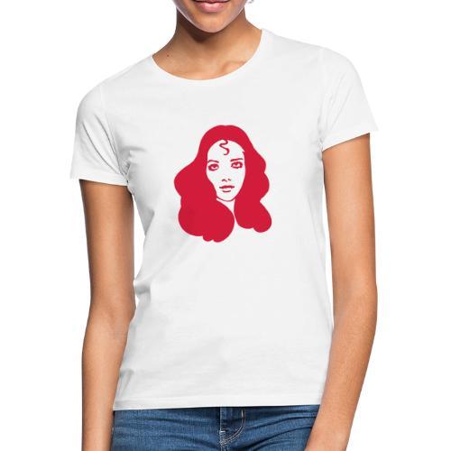 fblogovector80mm - Frauen T-Shirt