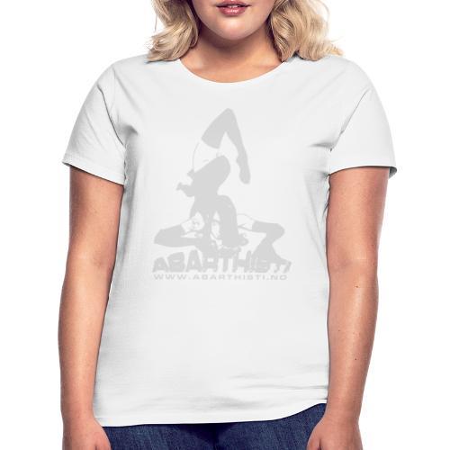 Abarthisti Pinup - T-skjorte for kvinner