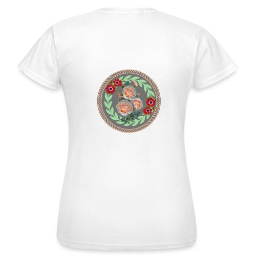Blumenkranz - Frauen T-Shirt