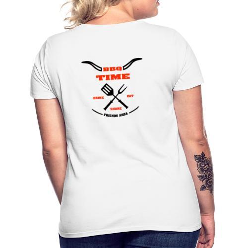 BBQ TIME - Friends Area - T-shirt Femme